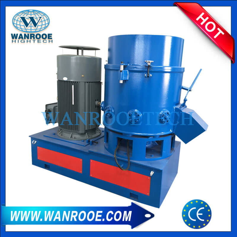 Disposable Face Mask Scrap Recycling Agglomerator Machine
