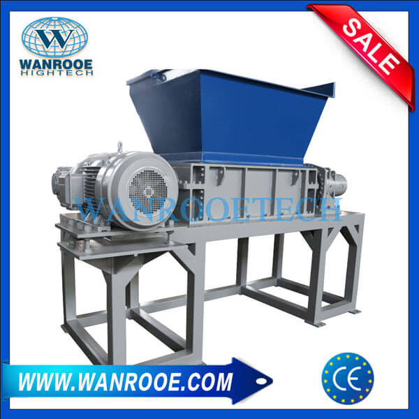 Car/Truck/Mobile Tire Shredder Machine Waste Tire Recycling Machine