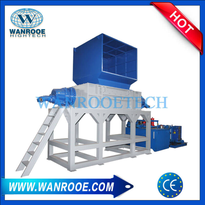 Heavy Duty Plastic Waste Garbage Shredder