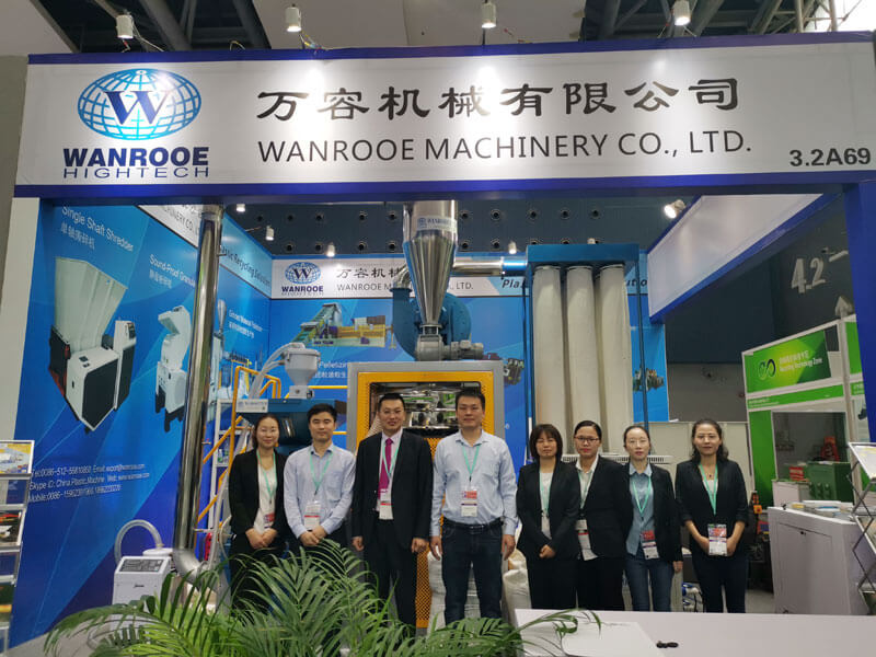 WANROOE MACHINE Elegant Demeanor IN CHINAPLAS 2019