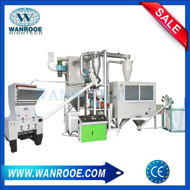 Waste Plastic Aluminum Separation Recycling Machine for Medical Capsule Board, Drug Blister Strip, Composite Panel