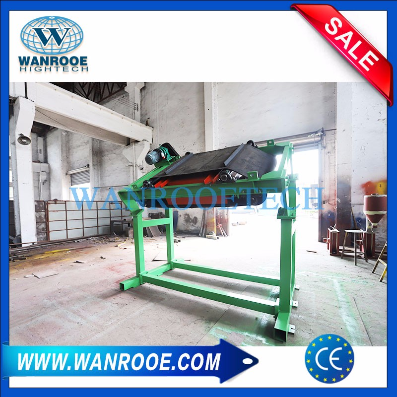 Auto Iron Removing Permanent Magnetic Separator For Conveyor Belt