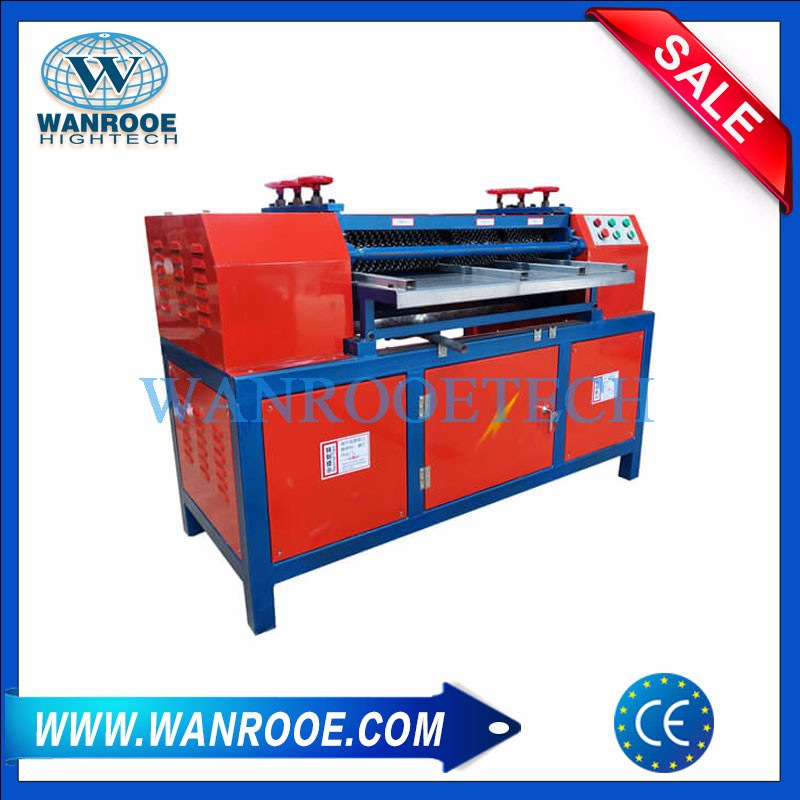 Air Conditioning Radiator Copper Aluminum Stripping And Separating Machine