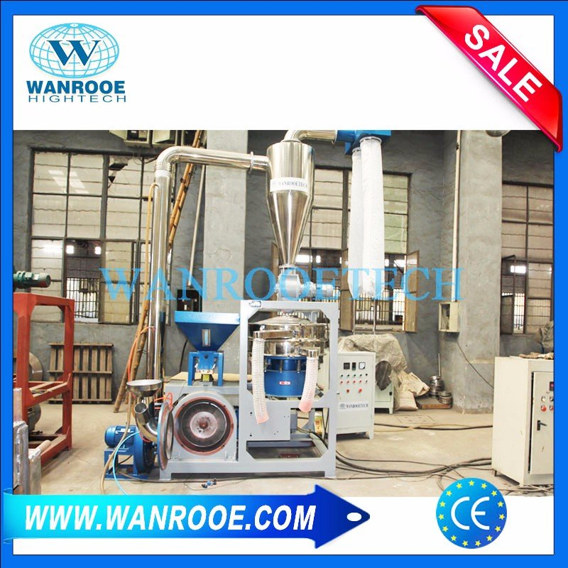 PVC Foam Sheet PVC Plastic Floor Recycling Pulverizer Machine