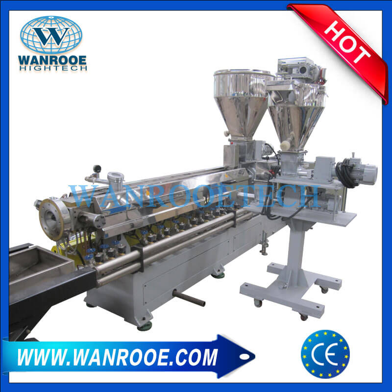 Plastic Compounding Pelletizing Granulating Machine