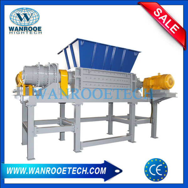 Waste Tire Tyre Shredding Machine Double Shaft Shredder