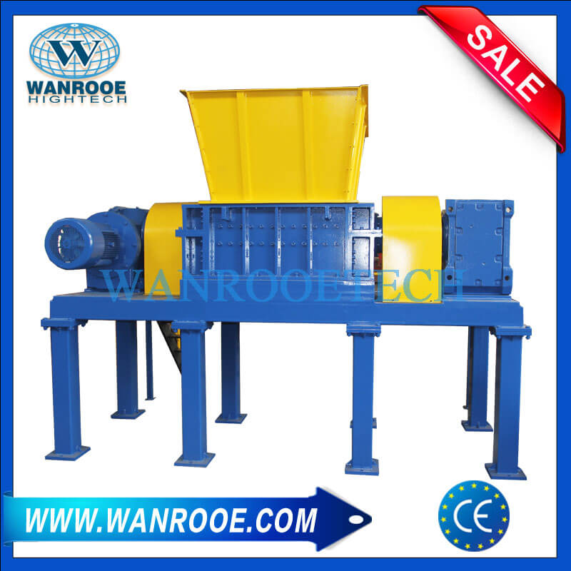 Paper Book Card board Corrugated Tube Shredder