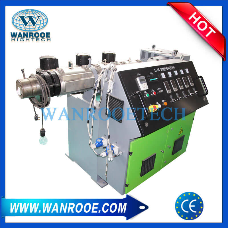 PP PE PVC ABS Steel Pipe Plastic Coating Extruder