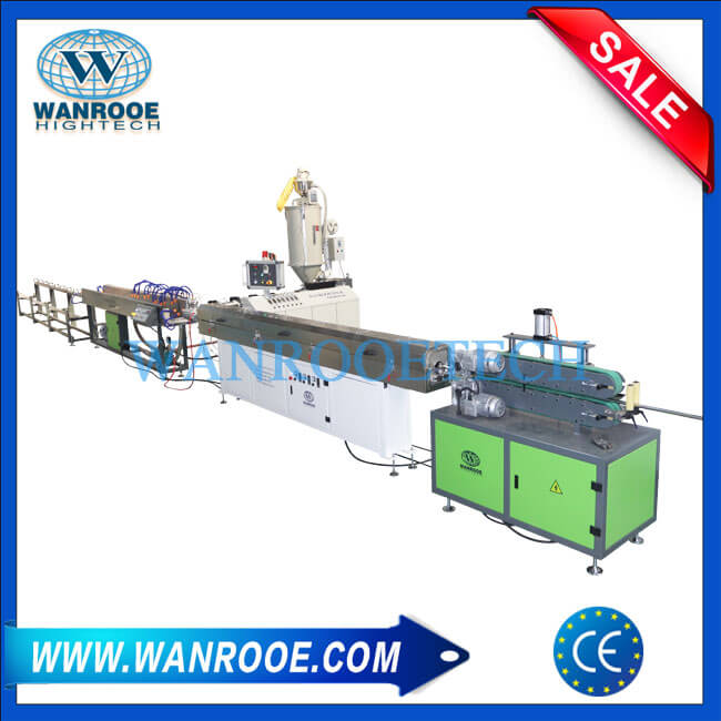 PP PE PVC ABS Steel Pipe Plastic Coating Production Line