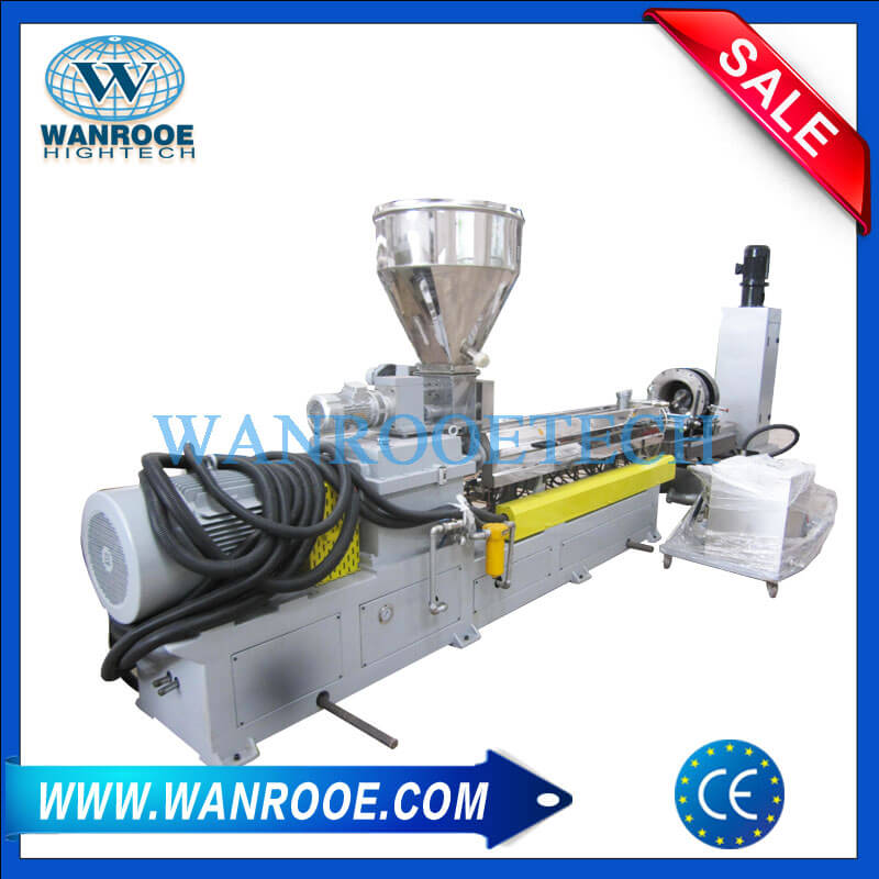 PP PE PS PET PVC Plastic Compounding Pelletizing Line