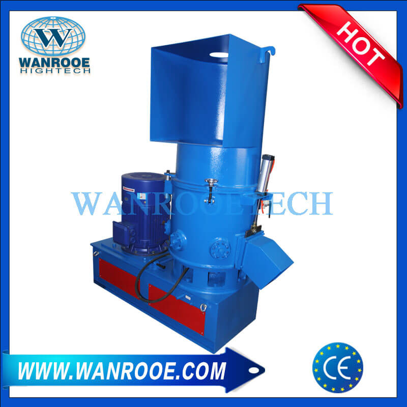 Waste Plastic Film Woven Bags Agglomerator Compactor Machine