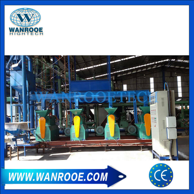 Tire Rubber Grinding Machine